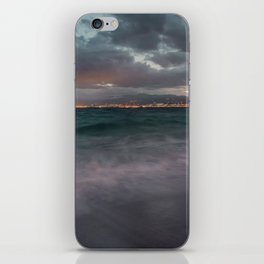 Night seascape iPhone Skin