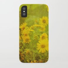 Flowers of the Field Slim Case iPhone X