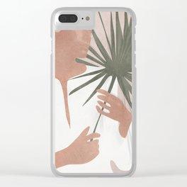 Female Beauty II Clear iPhone Case