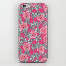 Roses Pink iPhone & iPod Skin