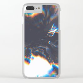 Astral Projection Clear iPhone Case