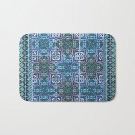Oriental Embroidery Bath Mat