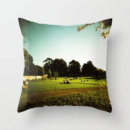 Newtown Park, Sydney Throw Pillow