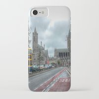 dublin iPhone & iPod Cases featuring Dublin by Christine Workman