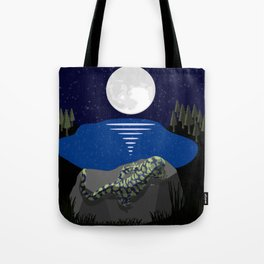Peace by the Moon Tote Bag