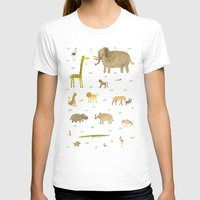african T-shirts featuring African Animals by Sophie Corrigan