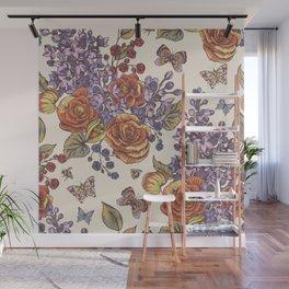 Flowers8554 Wall Mural