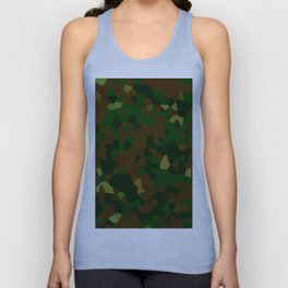Freckled Camo. Unisex Tank Top
