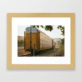 The long haul Framed Art Print