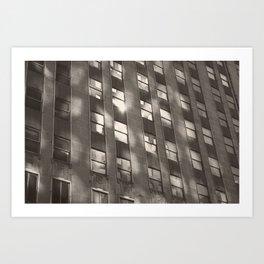 building reflection Art Print