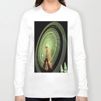 ferris wheel Long Sleeve T-shirts featuring Ferris Wheel by Benedict Middleton
