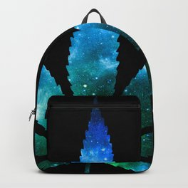 Weed : High Times Blue Green Galaxy Backpack