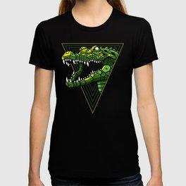Cyber Crocodile Punk T-shirt