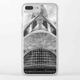 City of Arts and Sciences V | C A L A T R A V A | architect | Clear iPhone Case