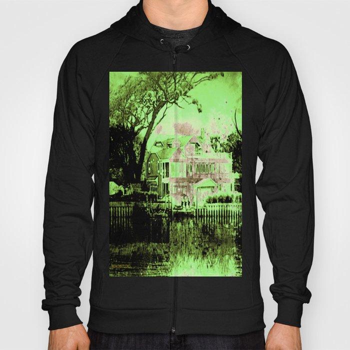 Green Spooky Boathouse Hoody
