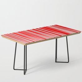 Red Track Coffee Table