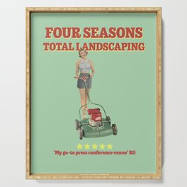 Four Seasons Total Landscaping Serving Tray