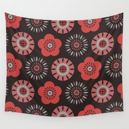 MCM Flower Power Wall Tapestry