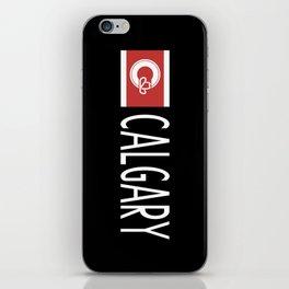 Calgary: Calgarian Flag & Calgary iPhone Skin