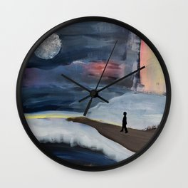 The Challenge Wall Clock