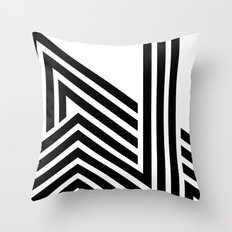 Hello II Throw Pillow