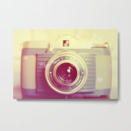 Vintage Camera Love: Bilora Bella! Metal Print