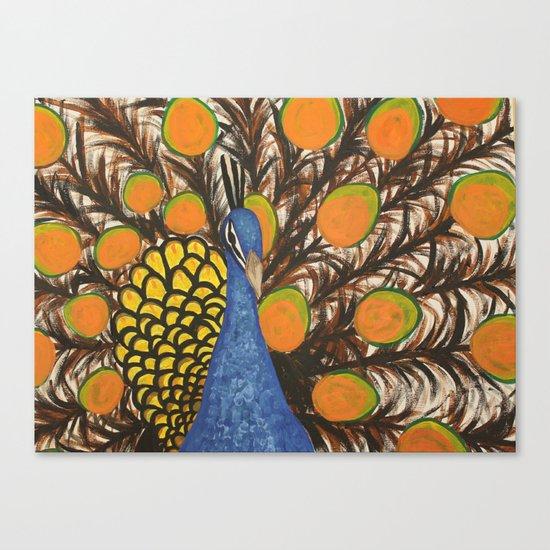 """color me feather"" Canvas Print"