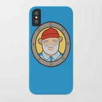 life aquatic iPhone & iPod Cases featuring The Life Aquatic by evannave