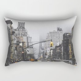 New York City Street Rectangular Pillow