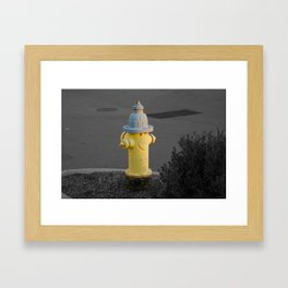 Fire Hydrant Framed Art Print