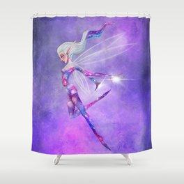 Galaxy Fairy Shower Curtain