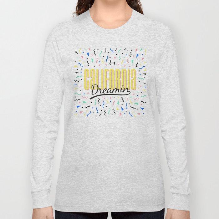 California dreamin (memphis pattern) Long Sleeve T-shirt