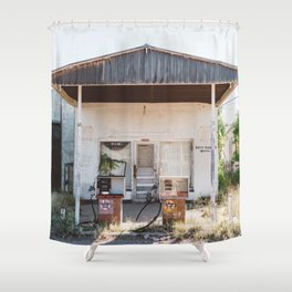 West Texas Station Shower Curtain