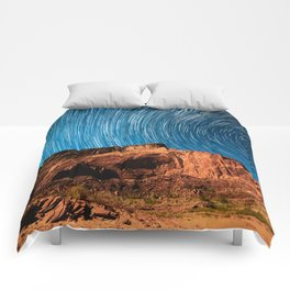 Perfect Sky Mountain (Color) Comforters