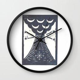 Change (White) Wall Clock