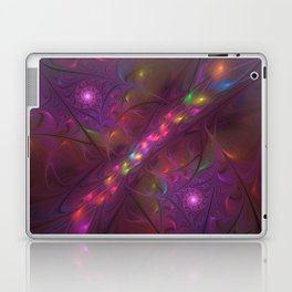 Colorful And Luminous Fractal Art Laptop & iPad Skin