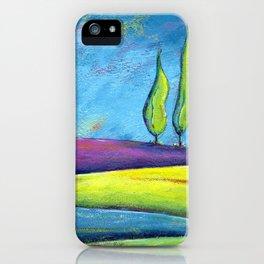 The Three Poplars iPhone Case