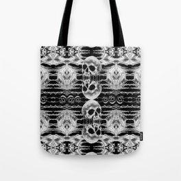 Freak Skull Pattern Tote Bag
