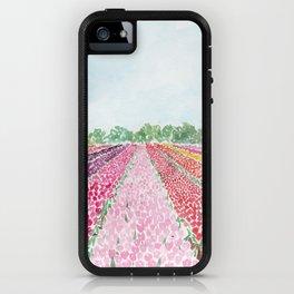 Tulip Fields iPhone Case