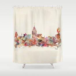 fresno california  Shower Curtain