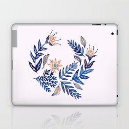 Blue Wreath Laptop & iPad Skin