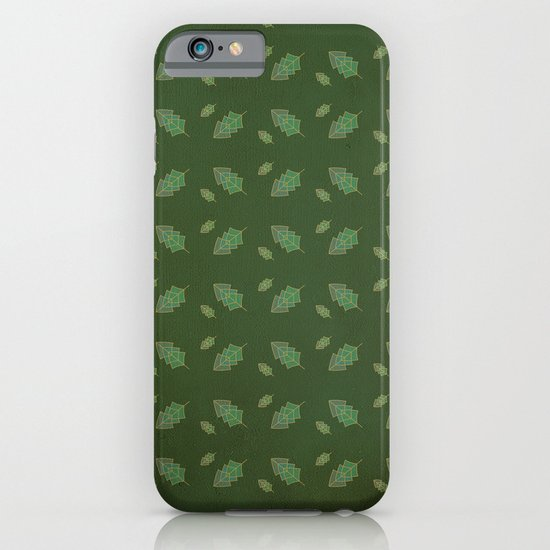 leaf pattern iPhone & iPod Case