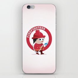 Firefighter iPhone Skin