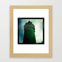 Sctuate Tower II Framed Art Print