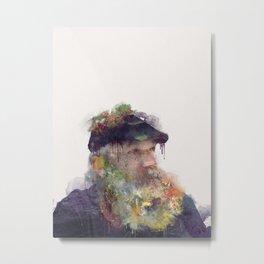 Lighthouse Keeper Metal Print