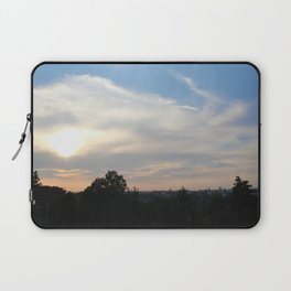 Peace at the sky Laptop Sleeve