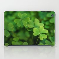 clover iPad Cases featuring Clover by Michelle McConnell
