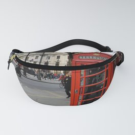 London Phone Booth Fanny Pack