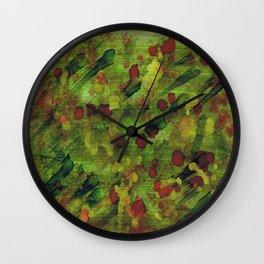 Garden Bloom Wall Clock