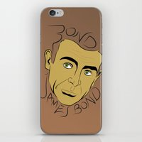 bond iPhone & iPod Skins featuring Bond, James Bond by FSDisseny